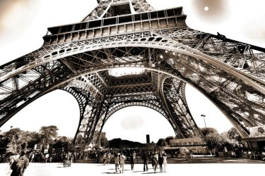 Paris - Eiffel Tower in HDR by Bifford