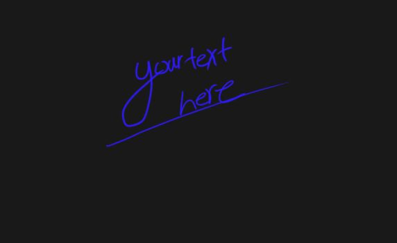 Custom text on any image by jeffmcc1