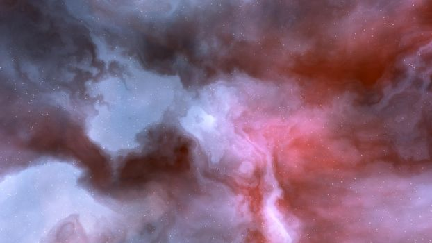 Red Blue Nebula by MarkKingsnorth