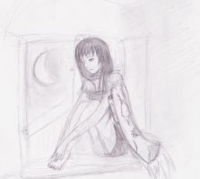 Nyotalia: Waiting for freedom [sketch] by Rikitocchi
