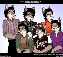 The Dogson Five by wolfjedisamuel
