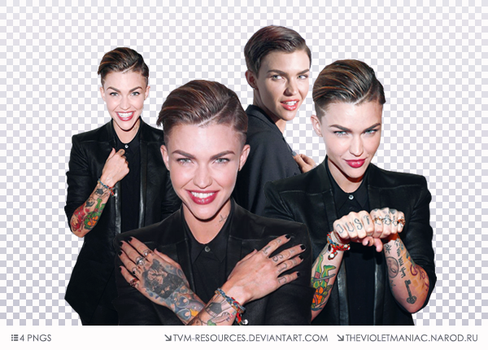 PNG PACK #15/RUBY ROSE by tvm-resources