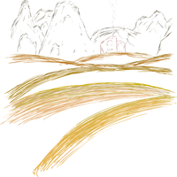 basic simple landscape by Liyito