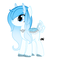 Glacial Fawnpond adoptable closed by Vaniaak