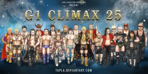 G1 Climax 25 : READY FOR THE BATTLE by Tapla