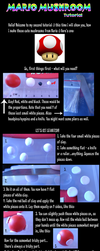 Mario Shroom Tutorial by FrozenNote