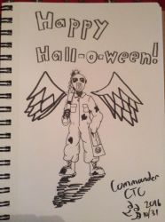 Happy Sketchie Hall-O-Ween by CommanderCTC