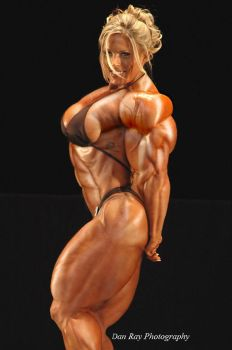Female muscle 16 by BigDane
