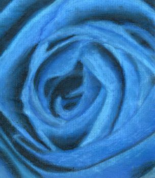 Blue Rose by xxxmidnightsummerxx