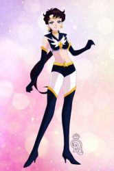 Supreme Sailor Star Fighter by CrystalSailorMoon