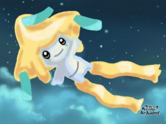 Pokemon Art Academy - Jirachi by GamerGyrl