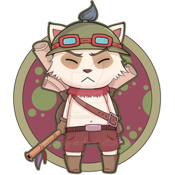 Teemo! by amy-m