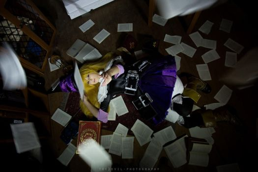 Lillet Blan - Grimgrimoire by CosplaySymphony
