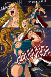 Mika VS Karin page 2 by BM-Illustrations
