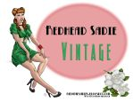 Redhead Sadie Vintage by DocRedfield