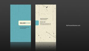 Personal Business card 2 by Dalash