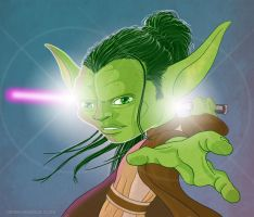 Young Yoda by DerekL