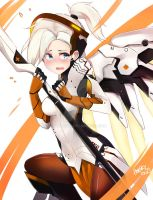 Mercy - Overwatch by AngryNum
