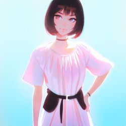 new dress by Kuvshinov-Ilya