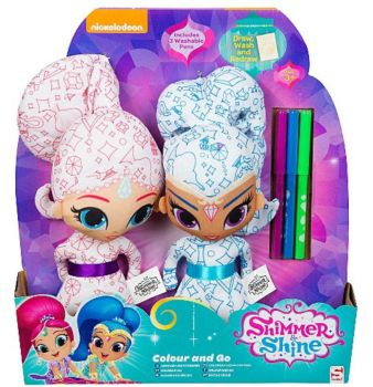 Shimmer and Shine Colour and Do by unicornsmile