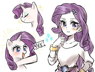 Rarity by merryyy87