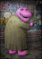 A Very Barney Nightmare by jflaxman