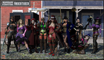 The League of Extraordinary Ladies by Nathanomir