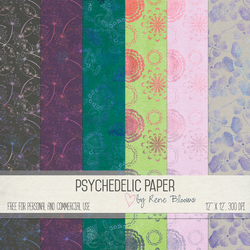 Psychedelic Paper by Rene Blooms by SunnyFunLane