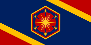 Sci-Fi: League of Seven Suns Flag by Leovinas