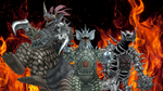 [MMD DL] Ultra Kaiju - Tyrant + EX Tyrant 1 and 2 by BigJohnnyCool