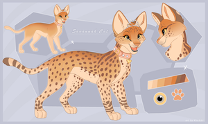 Savannah Cat -Design Auction- by Kitchiki