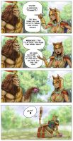 Meow! - SMITE comic by Sciamano240