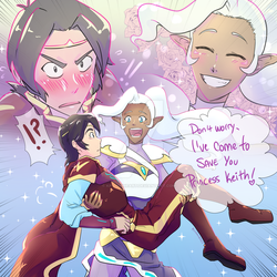 Kallura - Saving Princess Keith! by KP-Lionheart