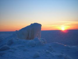 Funky Ice thing in Sunset by Irish-Baby