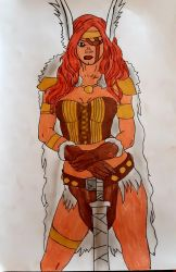 Female ValkyrieBy Demy by Demy111