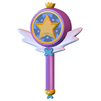 Star Butterfly's Wand [Model] by TheImperfectAnimator