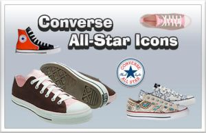 Converse All-Star Icons by lemondesign