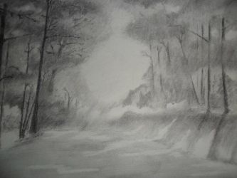 Realistic Landscape 1 by talkstocats