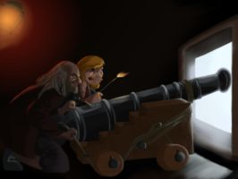 Gunners of the Caribbean by The-French-Belphegor
