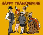 Scooby Doo Thanksgiving by Scoobygirl17