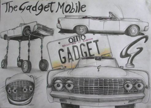 The Gadget Mobile From Inspector Gadget by TFGlider