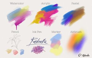 Rebelle Paint Tools by EscMot