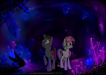 [MLP] - The Crystal Cave by Burning-Heart-Brony