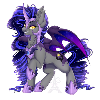 Nightmare Radiance by Silent-Shadow-Wolf