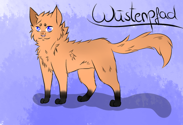 Desertpath - Warrior Cats OC by P0is0NR4iN