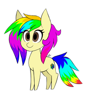 (Gift) Chibi RainbowTashie by Lightning31