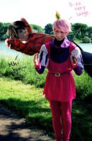 Adventure Time - Gumball x Marshall Lee Cosplay by Murdoc-lein