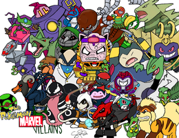 Marvel Pokemon Villains