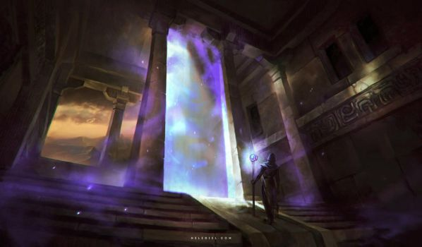 Magical Gate by Nele-Diel