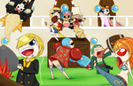 Straw Hat Party by OMGProductions